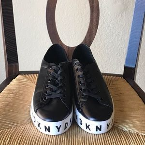 Dkny Shoes - DKNY Branson Lace-Up Platform Sneakers-NWOT